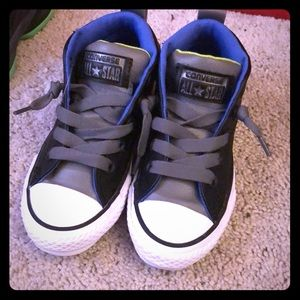 Brand new leather converse